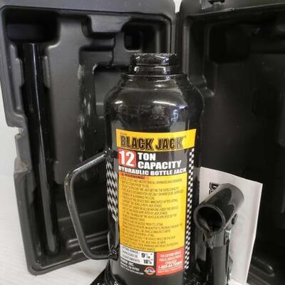 #7133 • Black Jack 12 Ton Bottle Jack