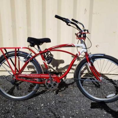 #12 • Schwinn Point Beach Cruiserserial no. SNFSD07CC5648 TIRE SIZE  26