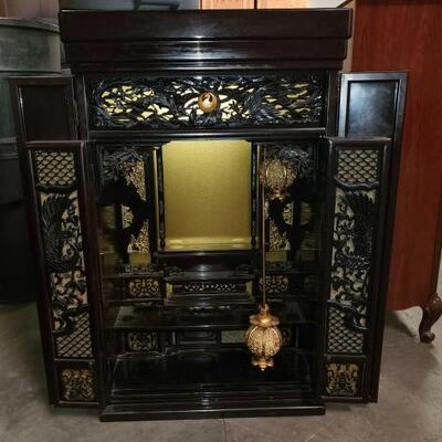 #5294 • Asian Display Cabinet