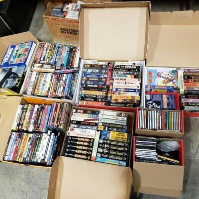 606	 Dvds, Cds, Vhs Tapes Dvds, Cds, Vhs Tapes