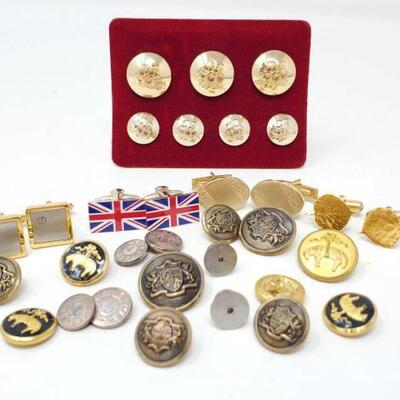 104	 Cufflinks And Buttons Cufflinks And Buttons