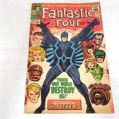 232	 Fantastic Four Comic Book Vol.1 No.46 Fantastic Four Comic Book Vol.1 No.46