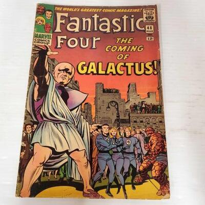 234	 Fantastic Four Volume 1 Issue 48 Comic Book Fantastic Four Volume 1 Issue 48 Comic Book