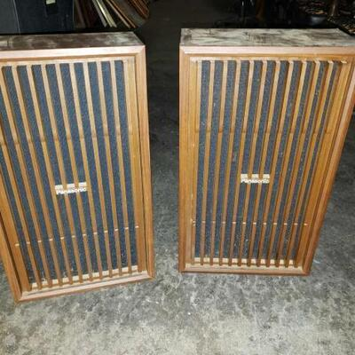 #3098 • Vintage Panasonic Speakers