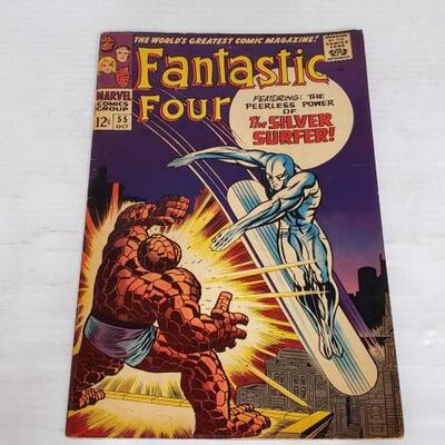236	 Fantastic Four Comic Book Vol. 1 No. 55 Fantastic Four Comic Book Vol. 1 No. 55