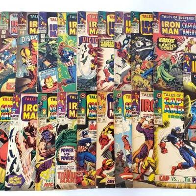 242	 Iron.Man and Captain America Comic Books Iron.Man and Captain America Comic Books