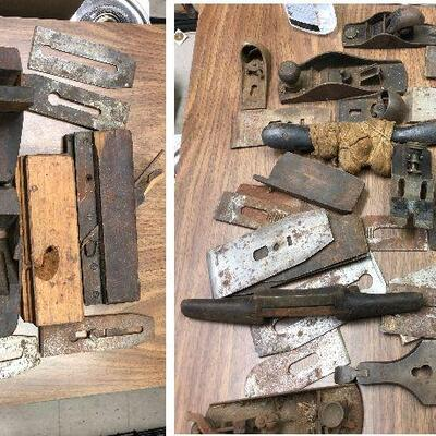 https://www.ebay.com/itm/114646835354HY7015 25 Pounds Of Wood Planes and Woodworking tools Local PickupAuction