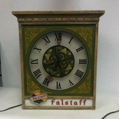 https://www.ebay.com/itm/114645000155Cma2073: Vintage Falstaff Beer Clock (Untestable) 14