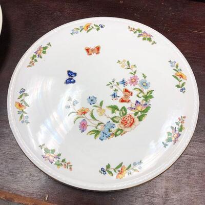 https://www.ebay.com/itm/124542026809BA5094 Aynsley England Fine Bone China Serving Plate - Local Pickup Cottage Garden Auction