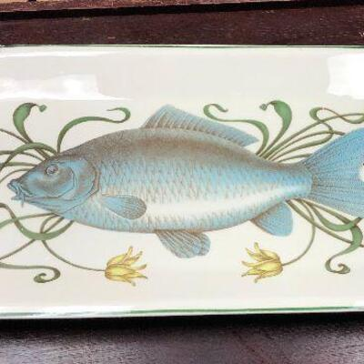 https://www.ebay.com/itm/114646816991BA5097 Villeroy & Bock Porcelaine China Fish Plate Server Local PickupAuction