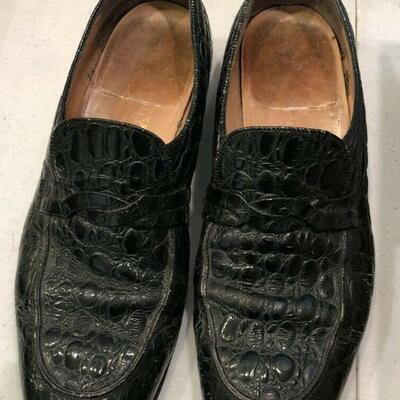 https://www.ebay.com/itm/114644998415HY7008 Alligator Shoes 10.5 M Deep Green Pickup OnlyAuction