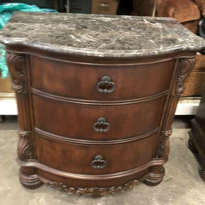 https://www.ebay.com/itm/124540595997KG0037B Collezione Europa Marble Top Chest of Drawers Pickup OnlyAuction