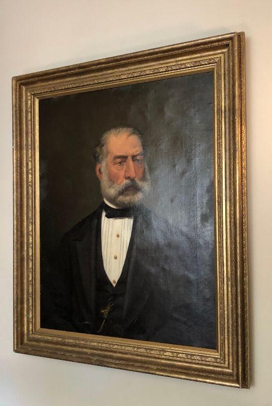 "https://www.ebay.com/itm/124540535353WRG5017 British School (19th C) Bearded Gentleman, oil on Canvas 29"" X 23"" UnsigAuction"