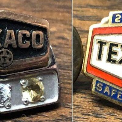https://www.ebay.com/itm/114652069142BM4014 Texaco 10 K Gold Pin + Texco 20 YearAuction