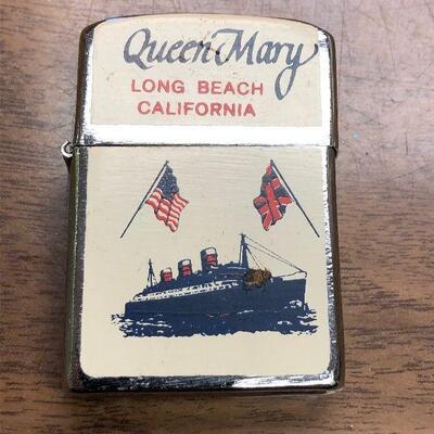 https://www.ebay.com/itm/124532497347LAR9035 Queen Mary Long Beach California Nesor LighterAuction