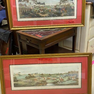 Set of Prints in Frames