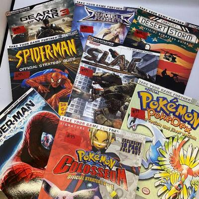 Video Game Strategy Books