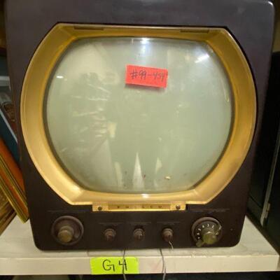 Antique Vintage TV