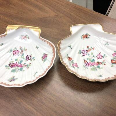 https://www.ebay.com/itm/114631324238WRY5014B Limoges France Porcelain Shell Trinket Dish (2) Buy-it-Now  $29.99