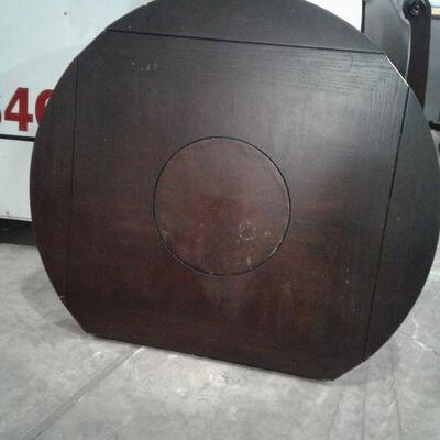 https://www.ebay.com/itm/114649988868LY8074 Deep Walnut Finish Tall Breakfast Knock Type Table  Local Pickup Buy-it-Now  $99.99