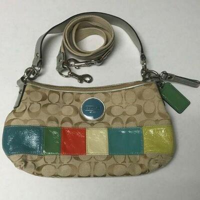 https://www.ebay.com/itm/114563949314HY007 COACH PURSE MULTI COLOR SMALL Buy-it-Now  $20.00