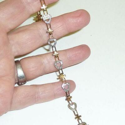 gold/Sterling bracelet