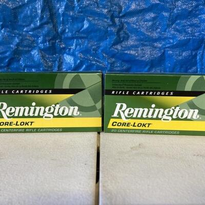 (36) rounds of .243 rifle ammo.