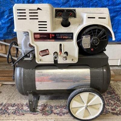 Craftsman 12 Gallon Air Compressor.
