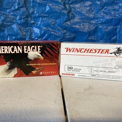 (96) rounds of 38 special ammo.