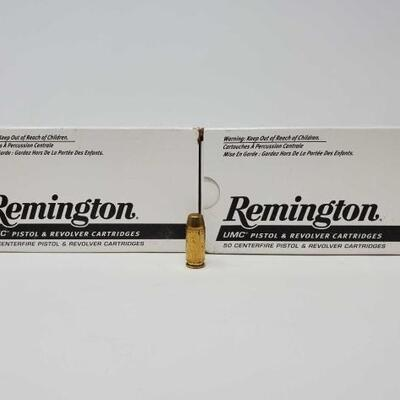 #1222 • 100 Rounds Of Remington 40 S&W- 180 GR LIVE IN 5d 19h 56min