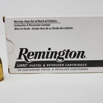 #1224 • 50 Rounds Of Remington 40 S&W- 180 GR.