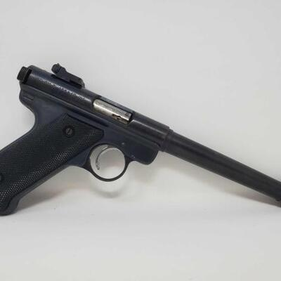 532  Ruger Mark I .22lr Semi-Auto Pistol NO CA Serial Number: 10-87907 Barrel Length: 6.75