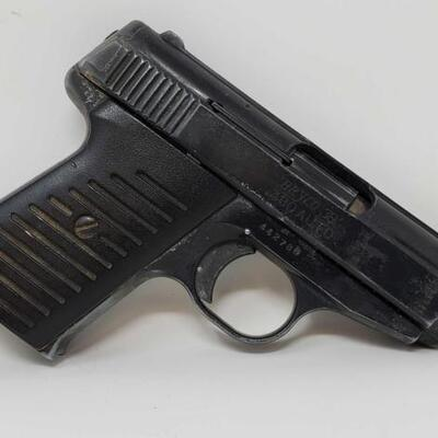 505  Jennings Firearms Bryco 38-.380 Auto Semi-Auto Pistol with 6 Round Magazine Serial Number: 442788 Barrel Length: 2.5