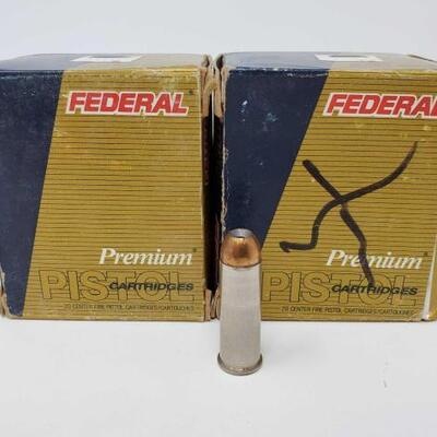 #1210 • 40 Rounds Of Federal Premium 44 REM. MAG- 240 GR.
