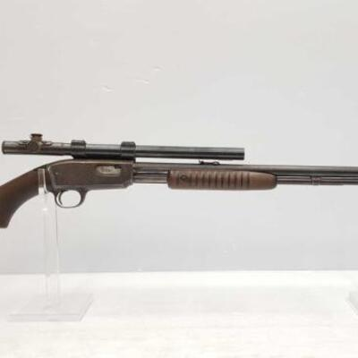 1002  Winchester Model 61 .22 CAL Rifle CA OK Serial Number: 1590 Barrell Length: 24