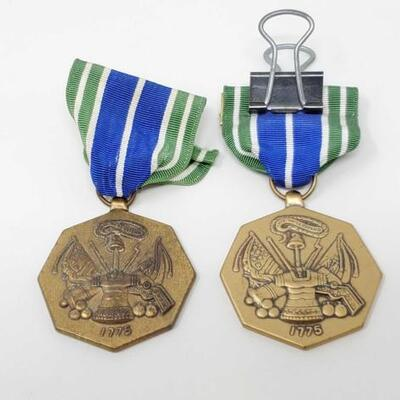 #1598 • 2 US Military Achievement Medals