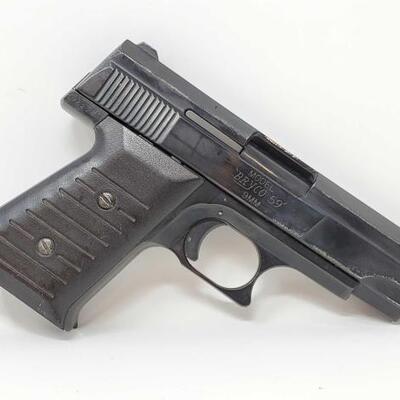 500  Jennings Firearms Bryco 59 9mm Semi-Auto Pistol Serial Number: 752181 Barrel Length: 3.5