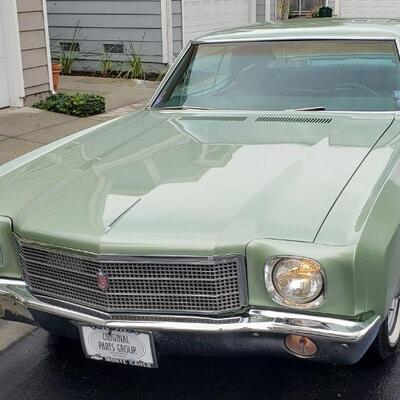 1970 Chevrolet Monte Carlo. One & only original owner.