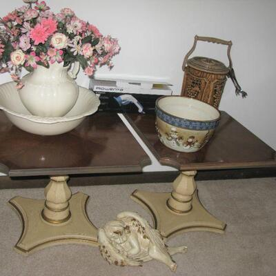 pedestal table  (there are 2)   BUY IT NOW $ 20.00 EACH