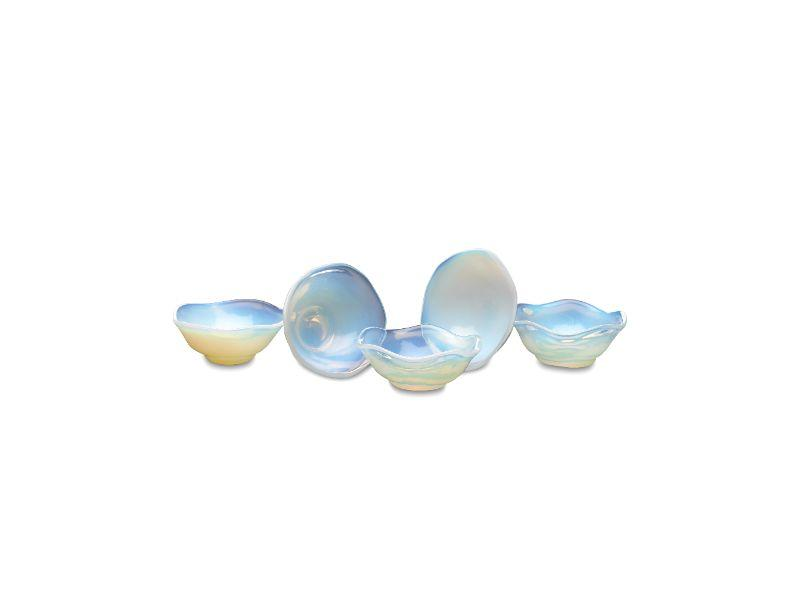 Opalite treasure bowls for small items such as rings, earrings, salt and pepper $12 each