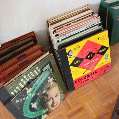 Vintage Records 45s LPs 78s