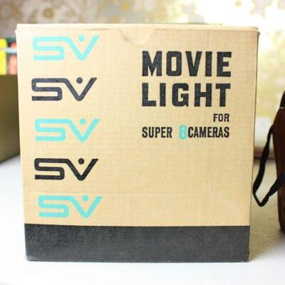 Super 8 film camera light