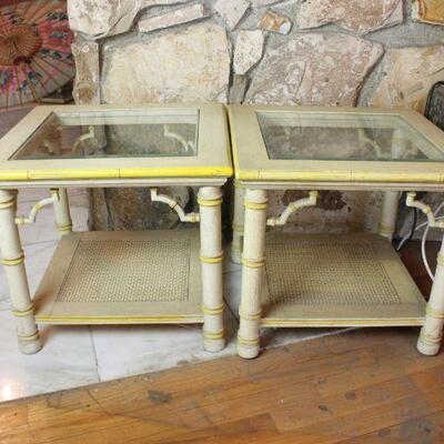 Pair Of Mid-century Tables
