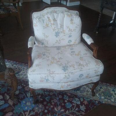 Pair of white chairs reduced to $95 for pair