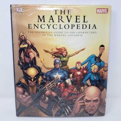 2800  The Marvel Encyclopedia The Marvel Encyclopedia