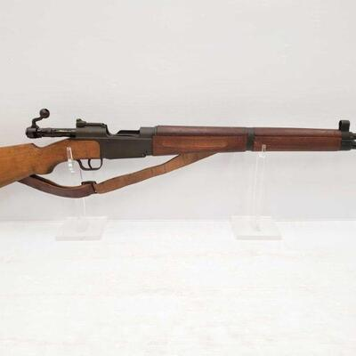 1082  French Mas 1936 7.5x54 Bolt Action Rifle Serial Number: 14203 Barrel Length: 23