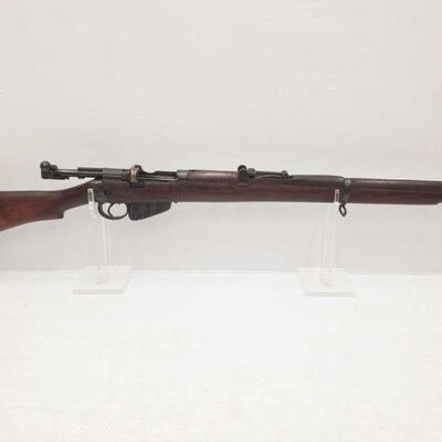 1060  Lee Enfield LMK.2 303 Bolt Action Rifle Serial Number: 66347k Barrel Length: 25.25
