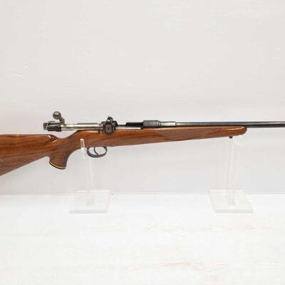 1074  Carl Gustafs Stads Gevarsfaktori 6.5x55 Bolt Action Rifle Serial Number: 111485 Barrel Length: 18