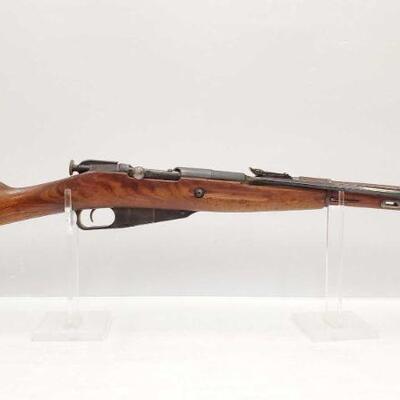 1022  Mosin-Nagant M44 7.62x54 Bolt Action Rifle CA OK Serial Number: BD140009 Barrel Length: 21
