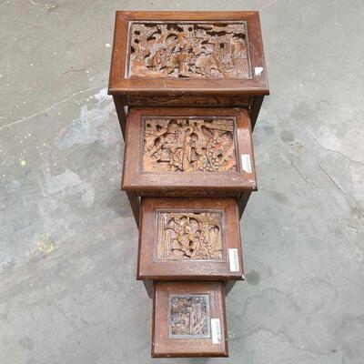 3162  Decorative Wooden Tables Measurements Range From 13